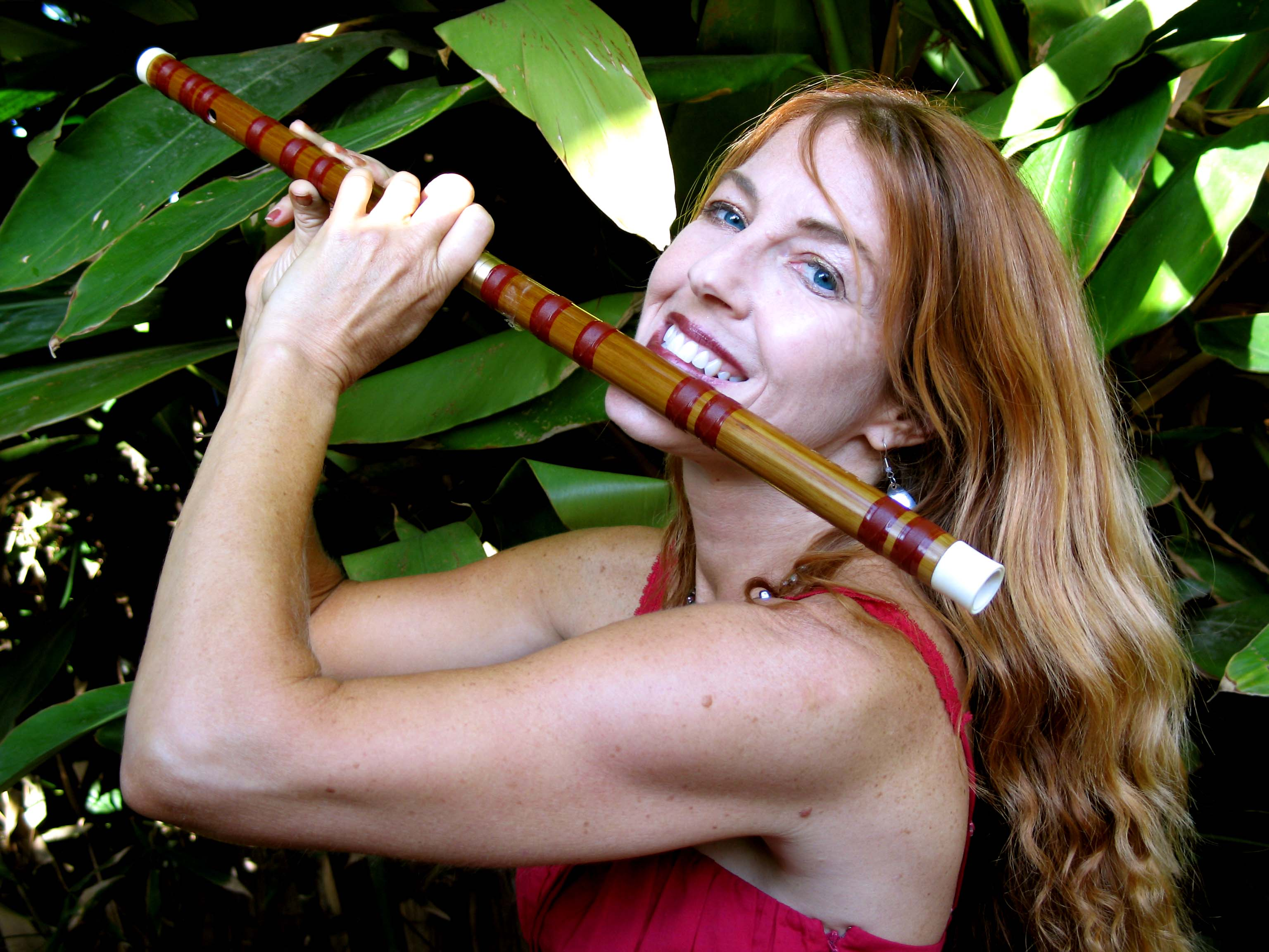 Adrienne Nims plays Native American flute